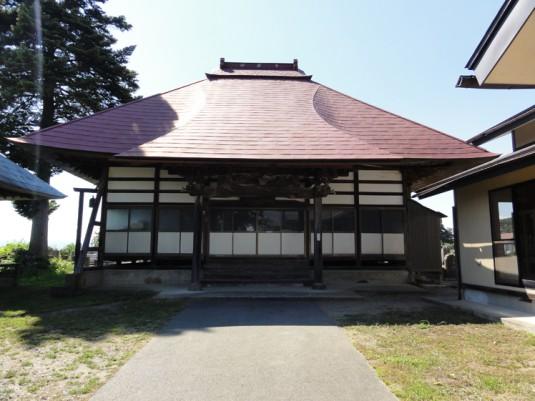 妙興寺と伝笈塚