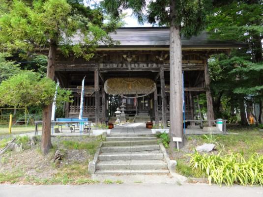 上宇内薬師堂(木造薬師如来坐像)